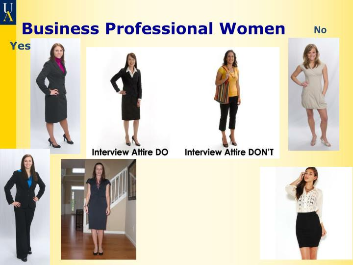 Business Professional Women