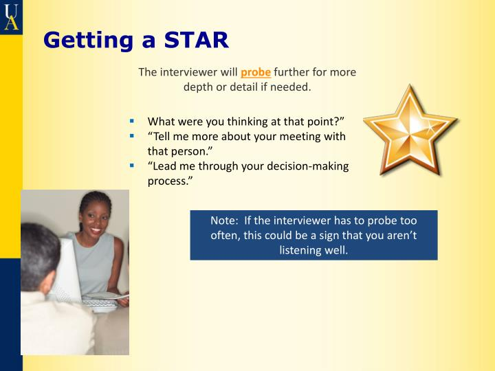 Getting a STAR