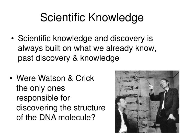 Scientific Knowledge