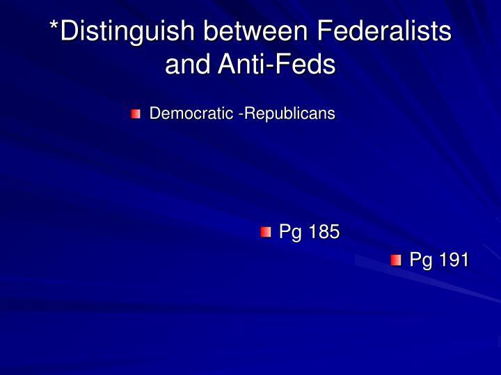 Democratic -Republicans