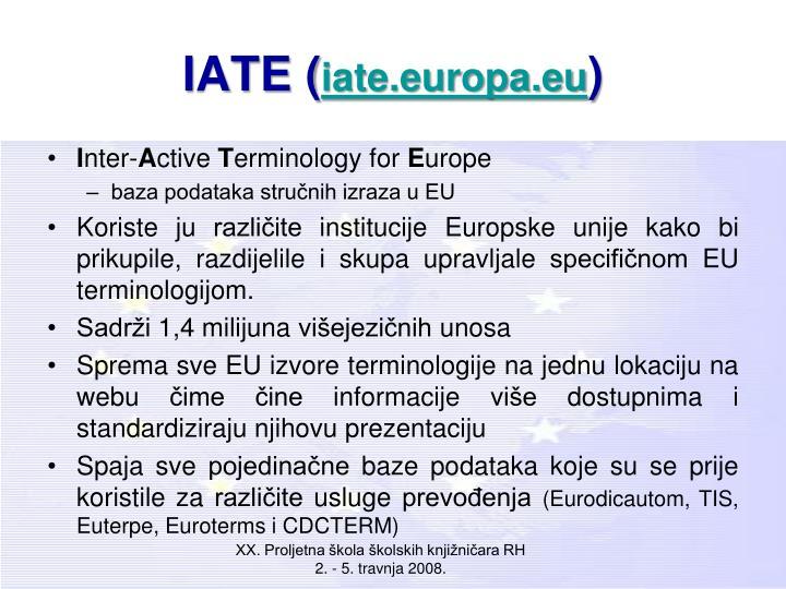 IATE (