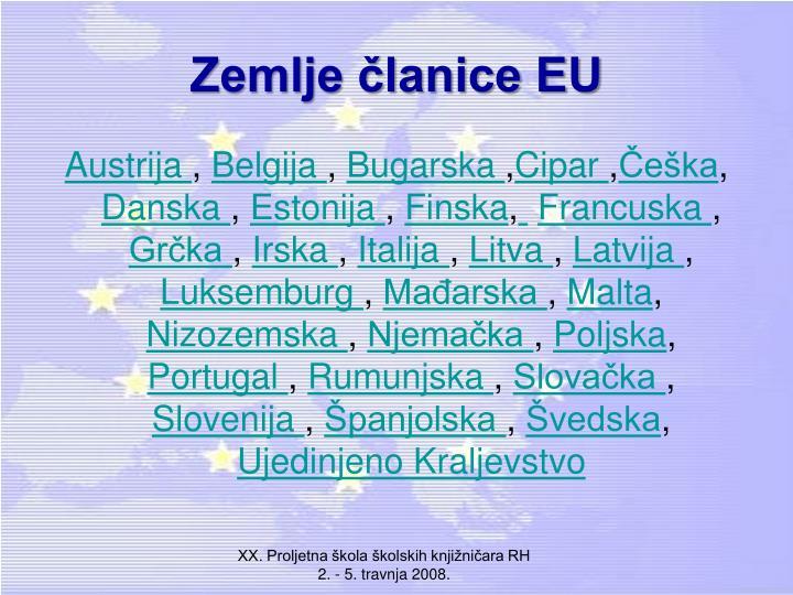 Zemlje članice EU