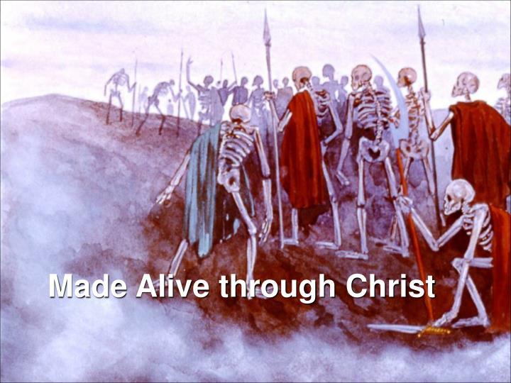 Made Alive through Christ