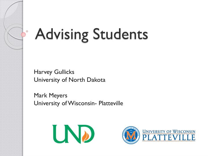 Advising Students