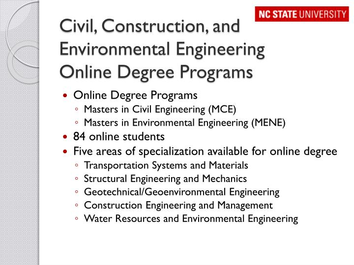 Civil, Construction, and Environmental Engineering