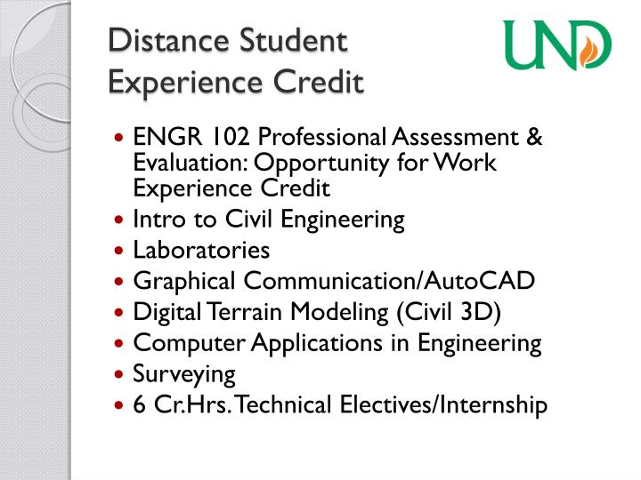 Distance Student