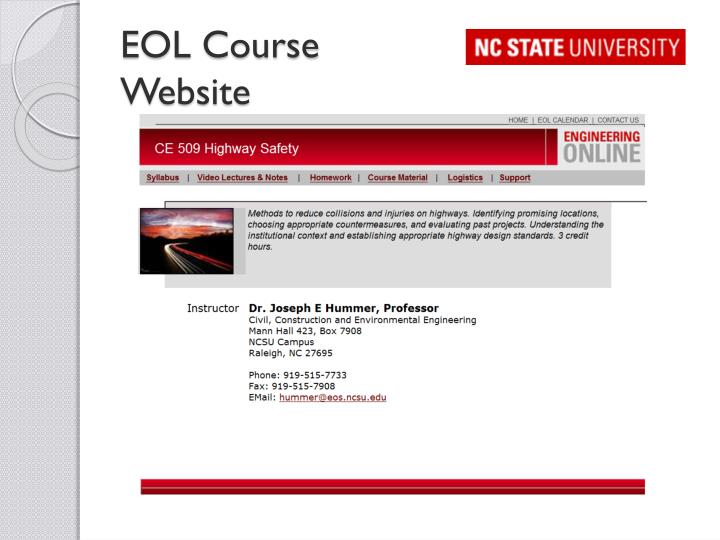 EOL Course