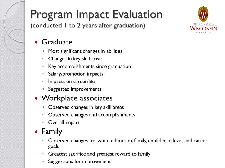 Program Impact Evaluation