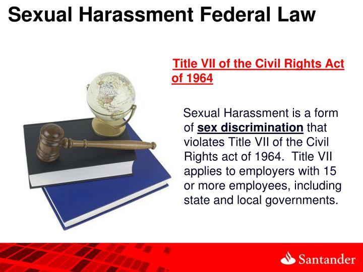 Federal sex discrimination act