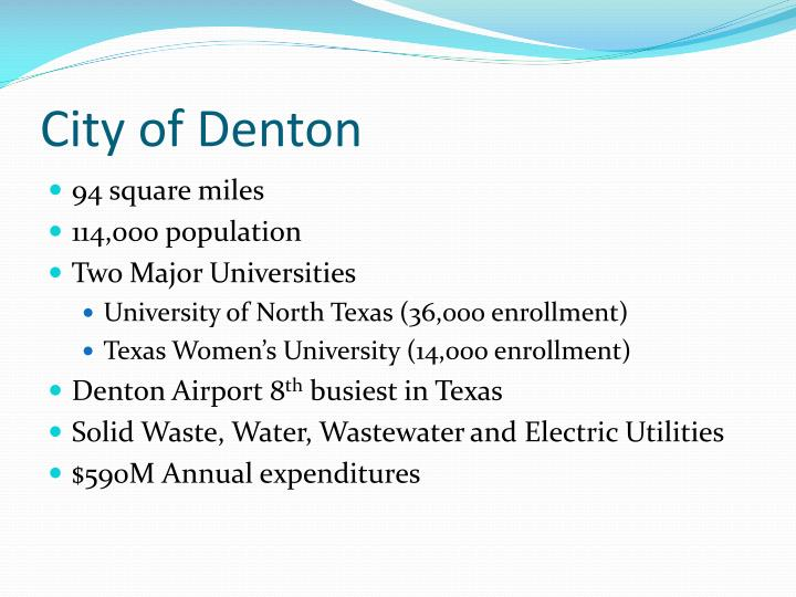 City of denton1