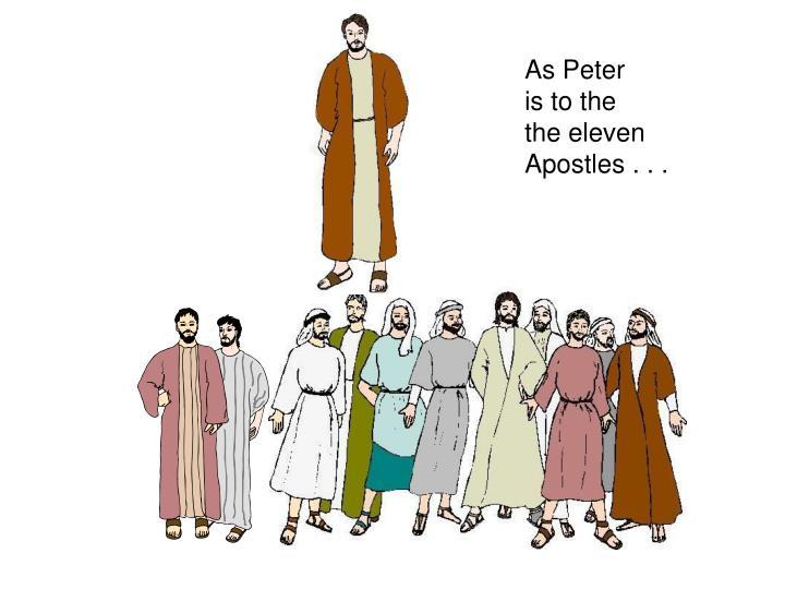 As Peter