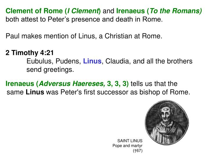 Clement of Rome (
