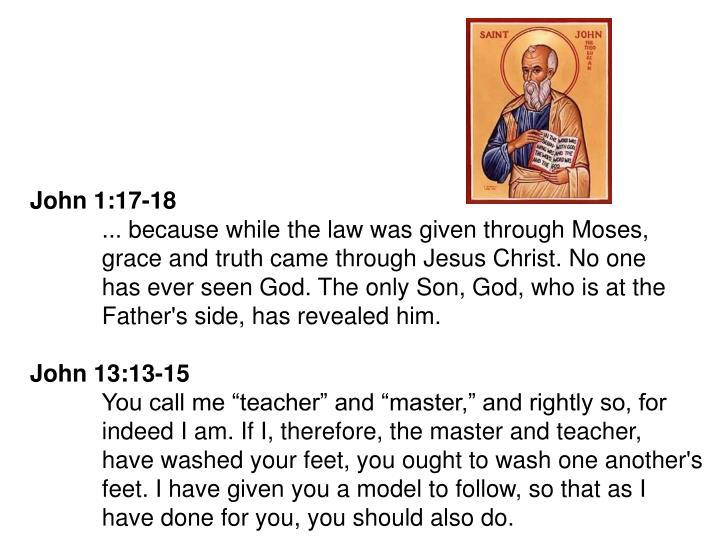 John 1:17-18