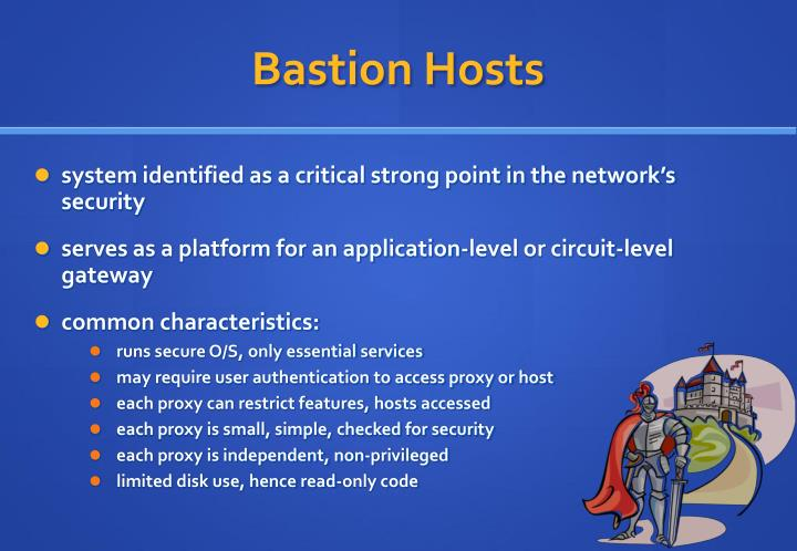 Bastion Hosts