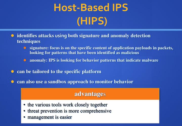 Host-Based IPS