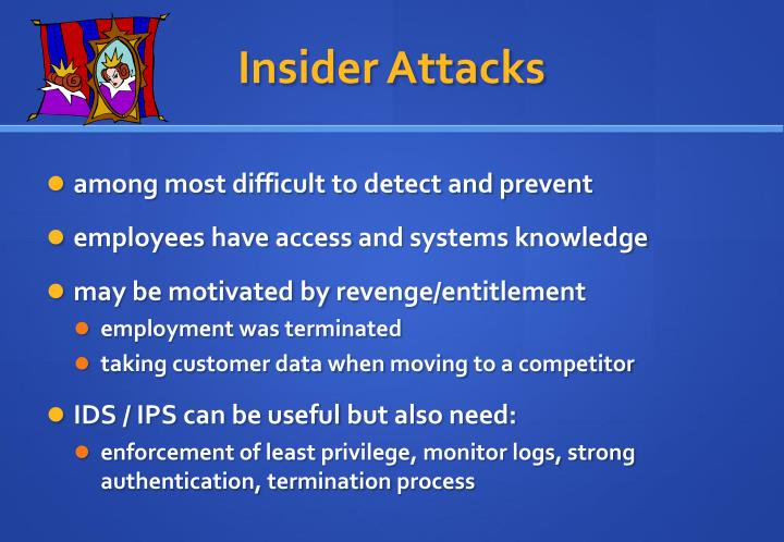 Insider Attacks