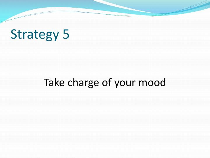 Strategy 5