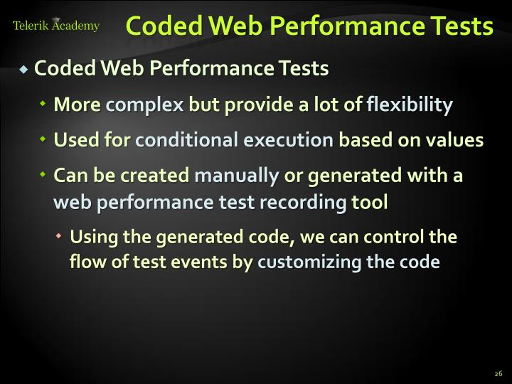 Coded Web Performance