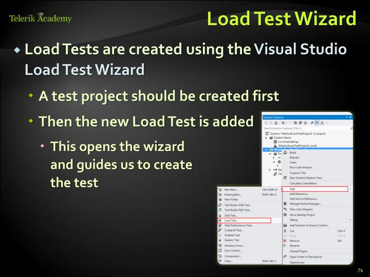 Load Test Wizard