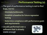 performance testing 2