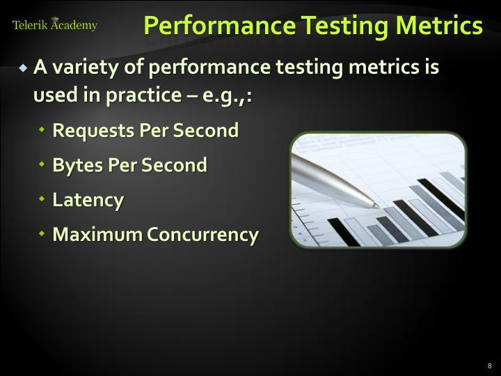 Performance Testing Metrics