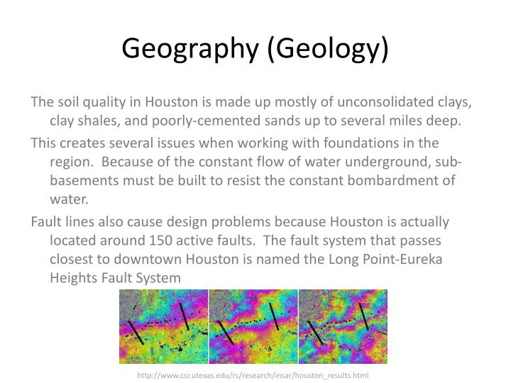 Geography (Geology)