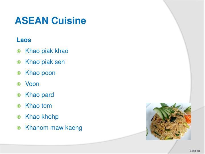 ASEAN Cuisine