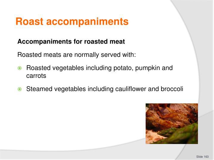 Roast accompaniments