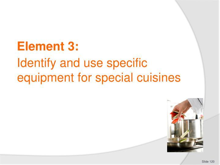 Element 3:
