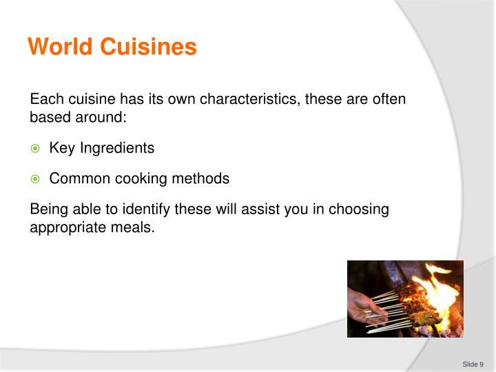 World Cuisines