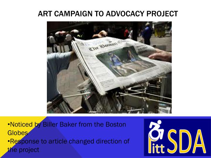 Art Campaign to Advocacy Project