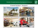 finished facilities pompano
