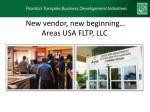 new vendor new beginning areas usa fltp llc