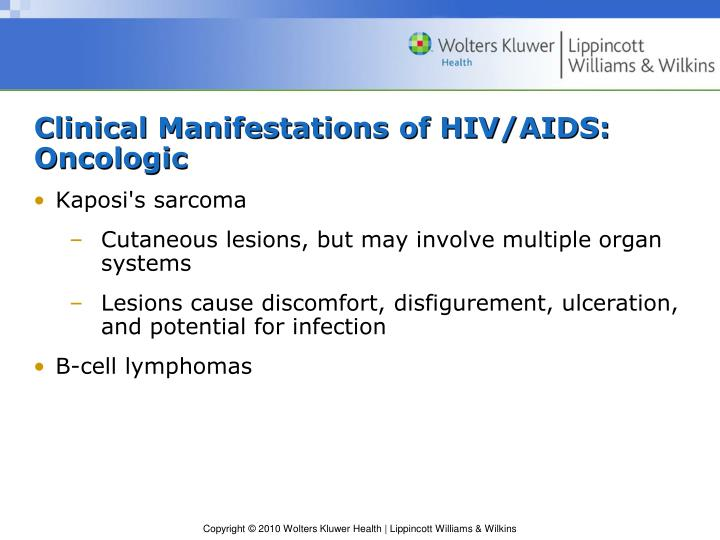 Clinical Manifestations of HIV/AIDS: Oncologic