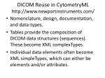dicom reuse in cytometryml http www newportinstruments com