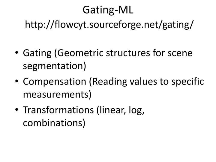 Gating-ML
