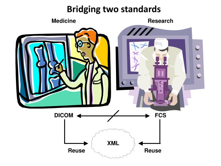 Bridging two standards