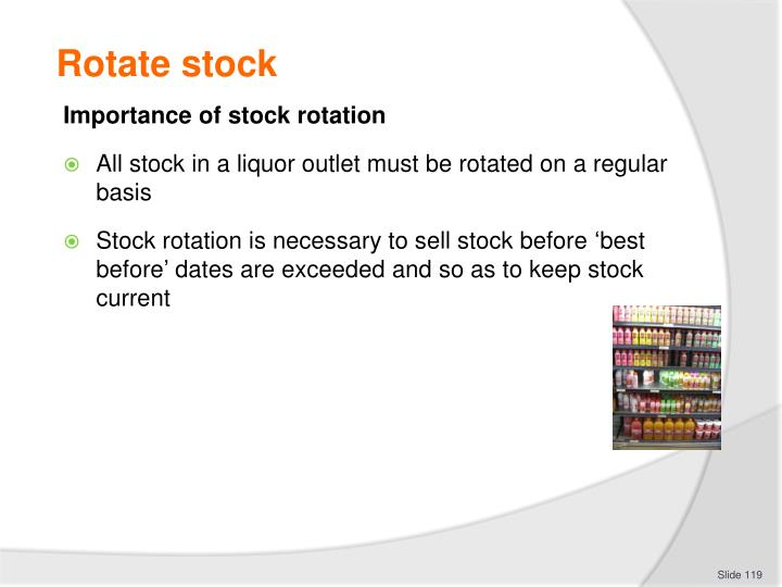 Rotate stock