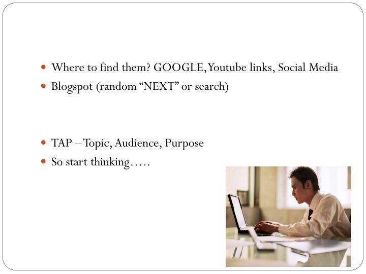 B,B,B Blogging?