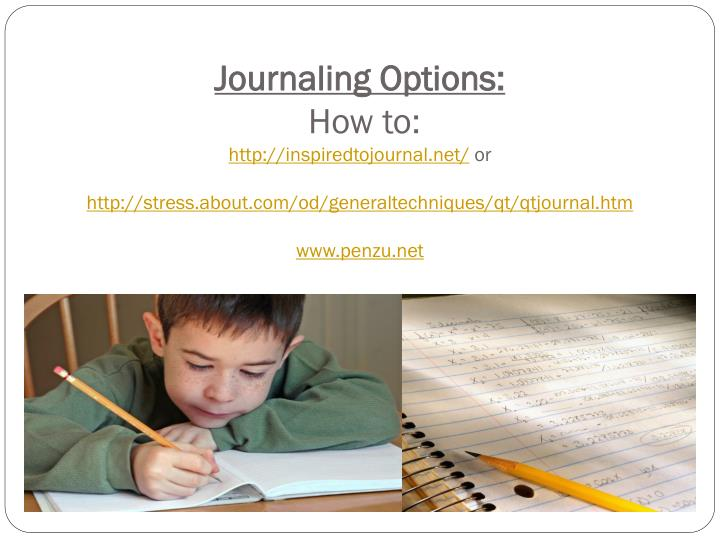 Journaling Options
