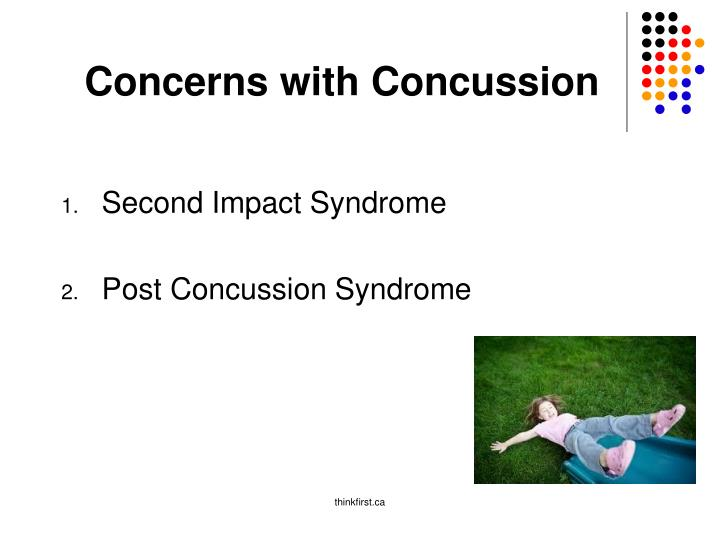 Concerns with Concussion