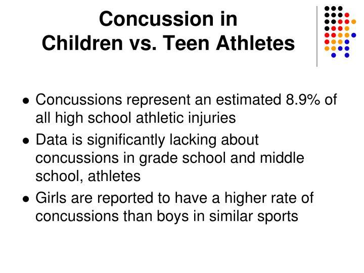 Concussion in
