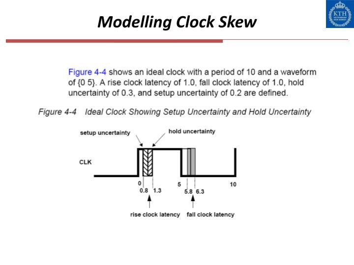 Modelling Clock Skew