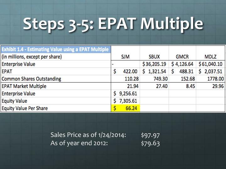 Steps 3-5: