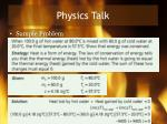 physics talk5