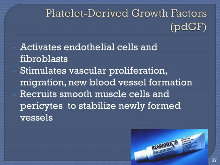 Platelet-Derived Growth Factors
