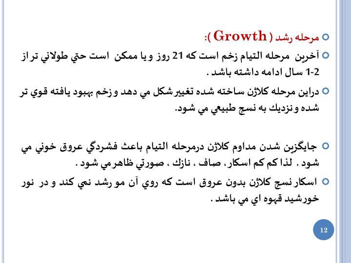 مرحله رشد (