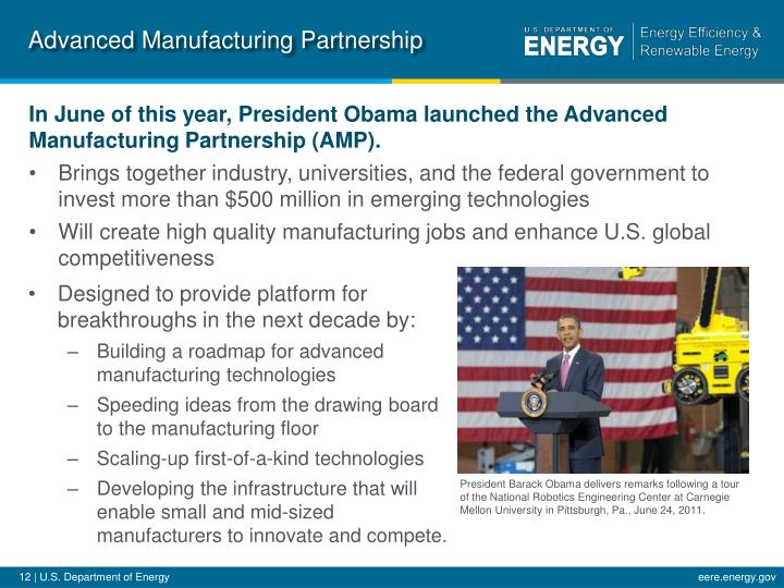 Advanced Manufacturing Partnership