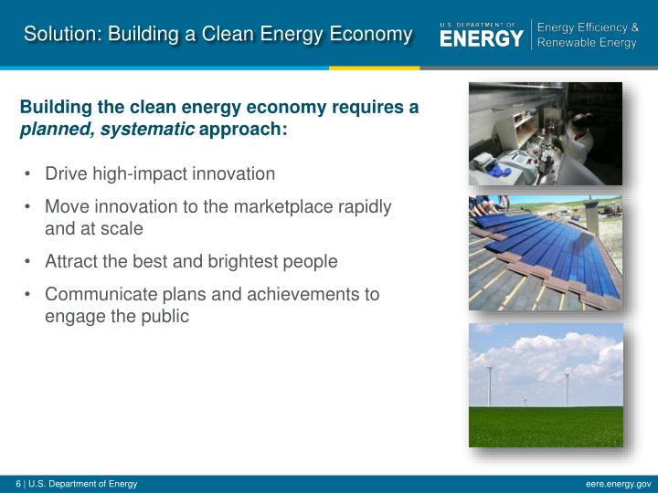Solution: Building a Clean Energy Economy