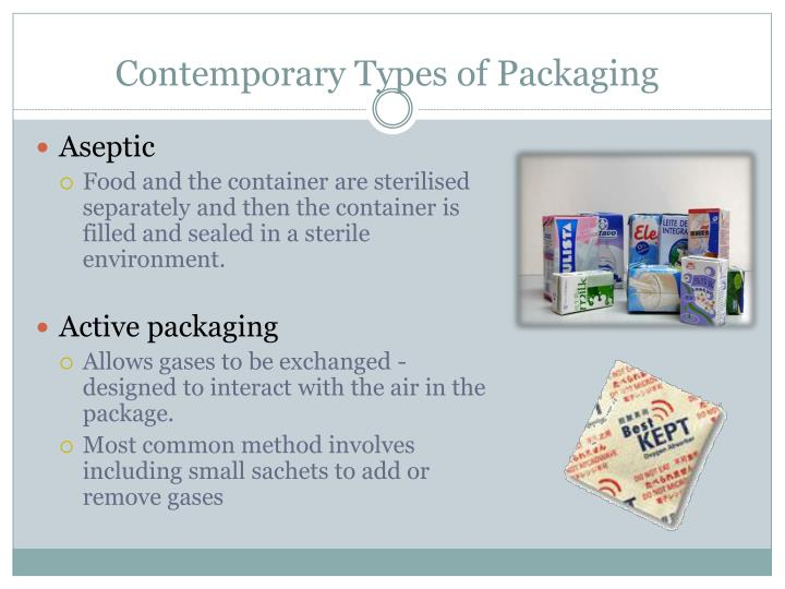 Contemporary Types of Packaging